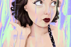 portrait of cheyanne